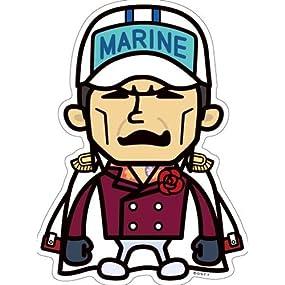 ワンピース×PansonWorks《海軍/赤犬》Bigステッカー☆キャラクターグッズ通販☆