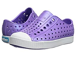 Native Jefferson Slip-On Sneaker (Toddler/Little Kid/Big Kid) (13 M US Little Kid, Techno Purple)
