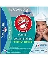 Bleu Câlin couette anti-acariens 220x240 cm, microfibre Sanitized, lavable, KMS40H