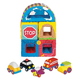 Sassy Baby's On the Go Vehicle Blocks