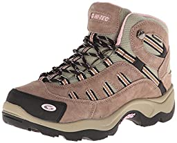 Hi-Tec Women\'s Bandera Mid WP Hiking Boot,Taupe/Blush,7.5 M US