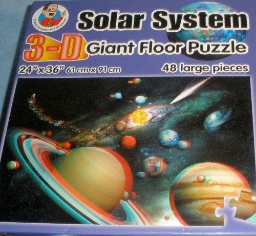 Solar System 3-D Giant Floor Puzzle - 48 Pieces - 1