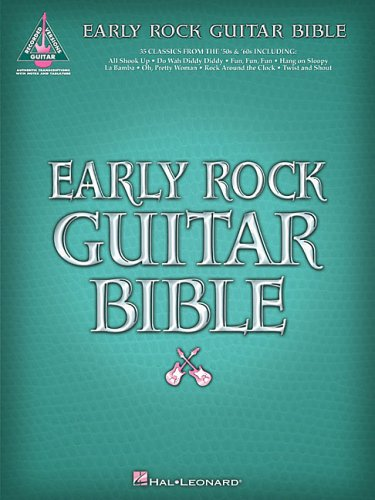 Early Rock Guitar Bible (Guitar Recorded Versions)
