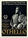 Othello, Orson Welles, Movie Poster (30x40cm Art Print)