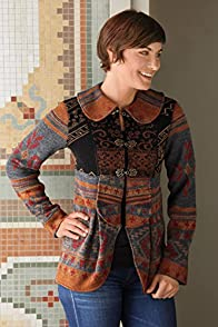 Tey-Art La Paz Jacquard Alpaca Fair Trade Jacket