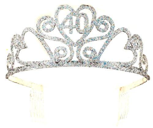 Forum Novelties 40th Birthday Glitter Tiara