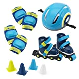 itsImagical - Set Rolling, mochila con set de patinaje, color azul (Imaginarium 70044)