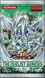 YuGiOh GX CCG 5D's The Duelist Genesis Booster Pack Box ( 24 Packs ) [Toy]