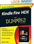 Kindle Fire HDX For Dummies (For Dumm...