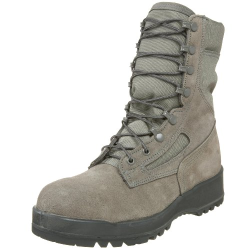 Wellco Men's 80061 Hot Weather Steel Toe Combat Boot,Sage,13.5 N US