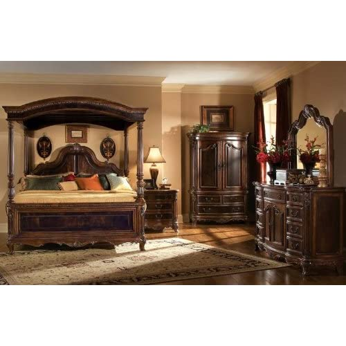 home and design bed bedroom set pulaski st raphael canopy 4 poster
