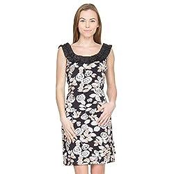 Species Women's A-Line Dress (S-356_Black_X-Large)