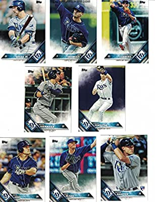 Tampa Bay Rays / Complete 2016 Topps Series 1 Baseball Team Set. FREE 2015 Topps Rays Team Set WITH PURCHASE!