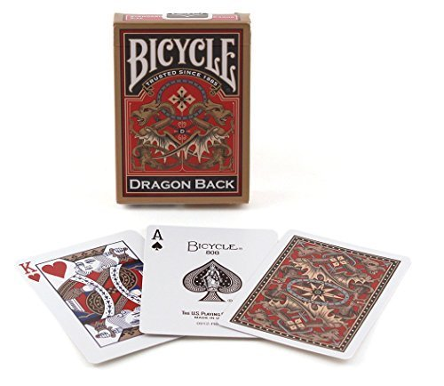 Review Of Bicycle Dragon Back Playing Cards, Gold