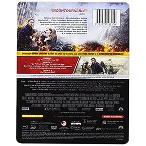World War Z [Combo Blu-ray 3D + Blu-ray + DVD - Version longue inédite - Édition boîtier SteelBoo
