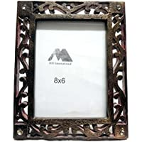 MH Craft Wooden Brown Photo Frame (Photo Size - 20.5 X 15.5 Cm, 1 Photos) … - B01L1HLNC4