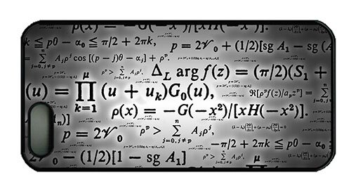 Hipster Iphone 5 Free Shipping Cover Calculation Formulae Pc Black For Apple Iphone 5/5S front-977113