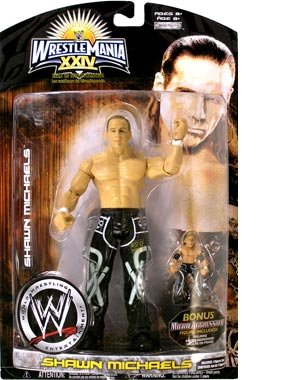 Buy Low Price Jakks Pacific Wrestlemania XXIV: Best Of Wrestlemania HBK Shawn Michaels Action Figure (B0015T7ET0)