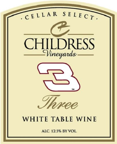 Nv Childress Vineyards Barrel Select Three White Table Wine 750 Ml