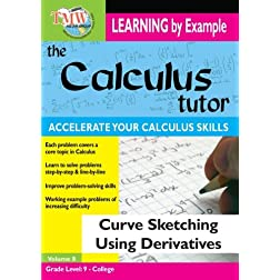 Calculus Tutor: Curve Sketching Using Derivatives