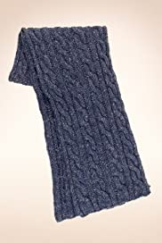 Chunky Cable Knit Scarf [T09-4597-S]