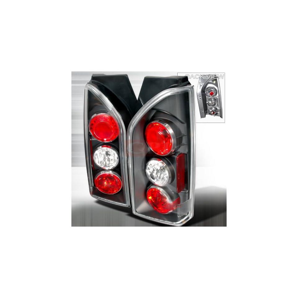 Nissan 2005 2007 Nissan Xterra Tail Lights /Lamps  Black