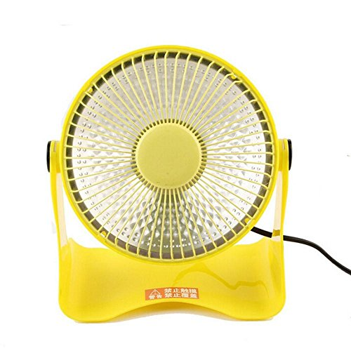 FTXJ Portable Mini Space Heater Safety Winter Desktop Electric Heating Fan (Yellow) (High Quality Space Heaters compare prices)