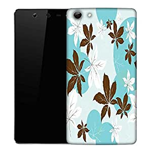 Snoogg Pink Flowers Designer Protective Phone Back Case Cover For Micromax Canvas Selfie Q348