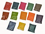 13 Packets of Rangoli Colours