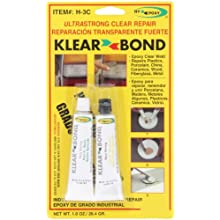 Hy-Poxy H-3C Clearbond Standard Cure Clear Epoxy Adhesive Kit, Begins to Harden in 30 Minutes, 1 oz Tubes