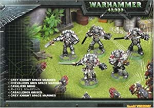 Games Workshop Daemonhunters Grey Knights Space Marines Box Set