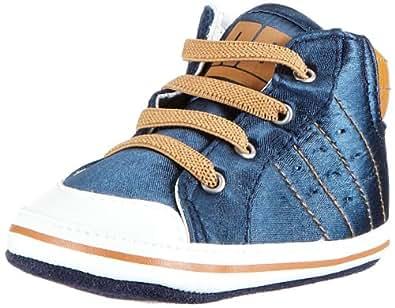 REPLAY Marcy GBX03 .000.C0043S, Jungen Sneaker, Mehrfarbig (NAVY BURN ORANGE 1700), EU 19