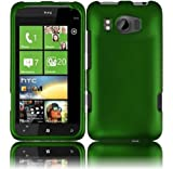Dark Green Hard Case Cover for HTC Titan II 2
