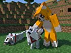 Minecraft Mr. Stampy Cat Edible Cake Topper Frosting 1/4 Sheet Birthday Party
