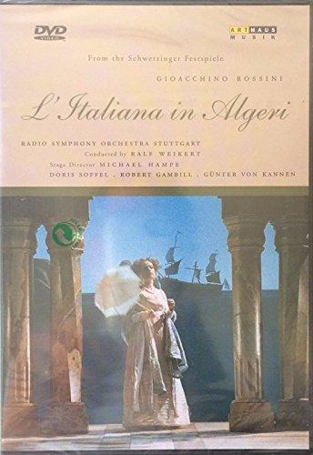 Rossini - L'Italiana in Algeri (The Italian Girl in Algiers) / Weikert, Soffel, Kannen, Gambill, Schwetzinger Festspiele by Doris Soffel (Italian Girl In Algiers compare prices)