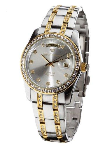 ¡Imbatible! Reloj de mujer con circonitas Yves Camani Auron