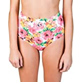 Billabong Rosie High Waisted Bikini Bottom - Womens White, M