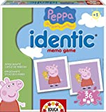 Educa-Borrás 15655 - Peppa Pig identic, juego educativo