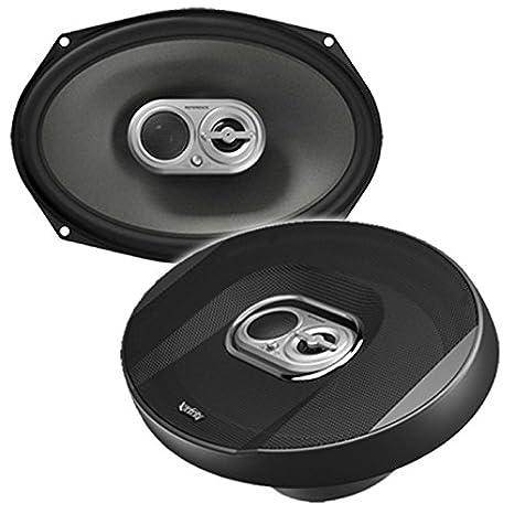 """Infinity Car Reference 9603ix Series Enceintes 3-Voies Coaxial pour Véhicule (6""""x9"""") - Noir"""