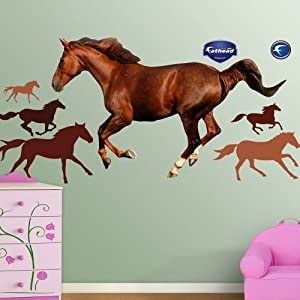 FATHEAD Horse Graphic Wall Décor by Fathead