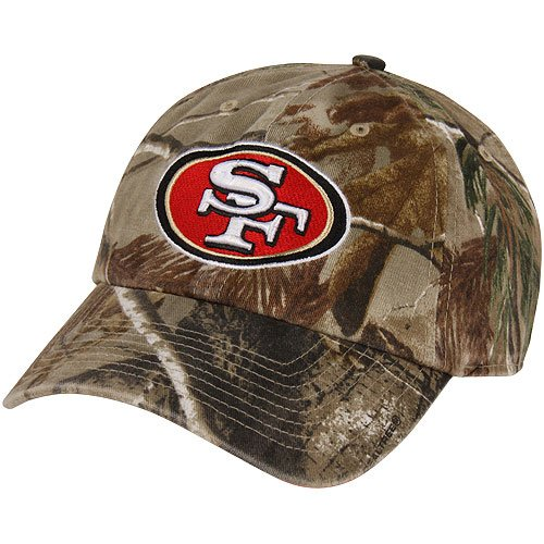 Men's '47 Brand San Francisco 49ers Realtree� Clean Up Slouch Adjustable Hat Adjustable at Amazon.com