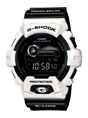 Casio Men s GWX8900B 7 G Shock Tough Solar Multi Band Atomic Watch ... c0dbb5aa7b