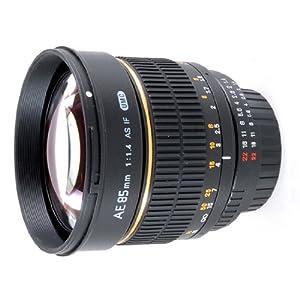 Rokinon 85MAF-N 85mm F1.4 Aspherical Lens for Nikon