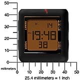 PUMA Unisex PU910791001 Slide-Large Black Red Digital Watch