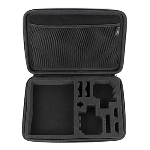 Bluefinger Portable Shockproof Eva Travel Protective Case Storage Carrying Bag For Gopro Accessories Hd Hero 1,2 3,3+ (Big)