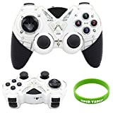 Super New 2.4Ghz Wireless Vibration Gamepad Joystick Controller for Ps3 / Android / Windows PC 360 Games, White