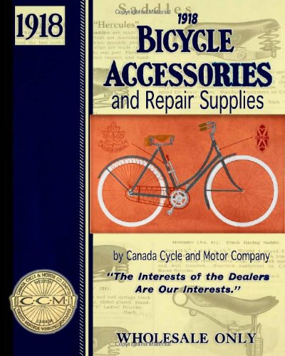 1918 Bicycle Accessories and Repair Supplies