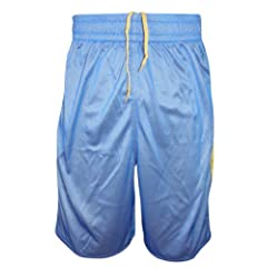 Mens Nike Dri Fit Reversible Basketball Shorts Yellow - Blue Size XL - 4XL by Nike