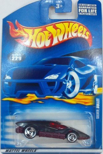 Hot Wheels Silver Bullet #229 Year: 2001 (Silver Bullet Hot Wheels compare prices)