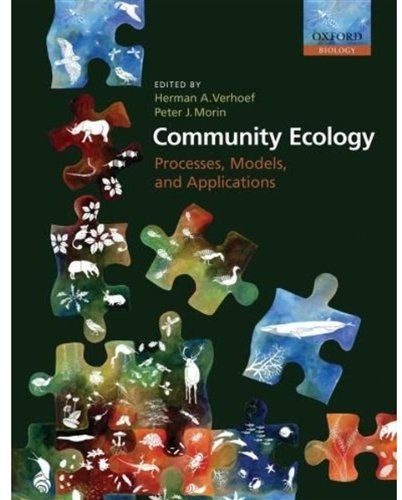 Community Ecology: Processes, Models, and Applications...